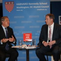 "Dan Erikson Moderates ""Democracy in the Americas: A Discussion with OAS Secretary General Luis Almagro"" hosted by the Harvard Kennedy School, Washington DC Alumni Council."