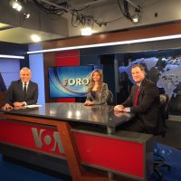 Dan Erikson Interviewed on Voice of America's (VOA) Spanish language TV program on U.S. Secretary of State Rex Tillerson's trip to Latin America.