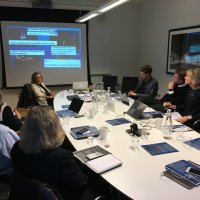"Karen Tramontano Speaks at House of Sweden to visiting Swedish and Estonian Healthcare Companies on ""The Essence of Lobbying in the United States."""
