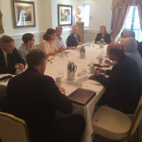 Blue Star Strategies Hosts Breakfast Discussion with New Paris-based Partner Mathilde Defarges.